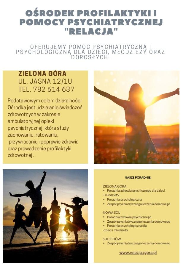 Ilustracja do informacji: Poradnia Zdrowia Psychicznego dla Dzieci i Młodzieży