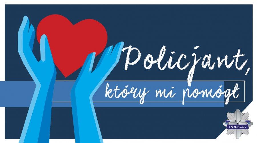 """Ilustracja do informacji: Konkurs """"Policjant, który mi..."""