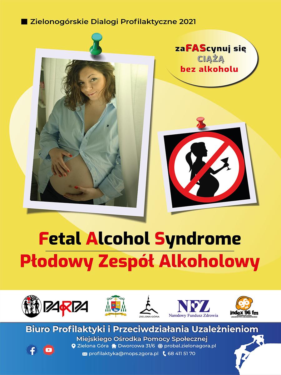 """Ilustracja do informacji: Kampania społeczna """"zaFAScynu się ciążą bez alkoholu"""""""