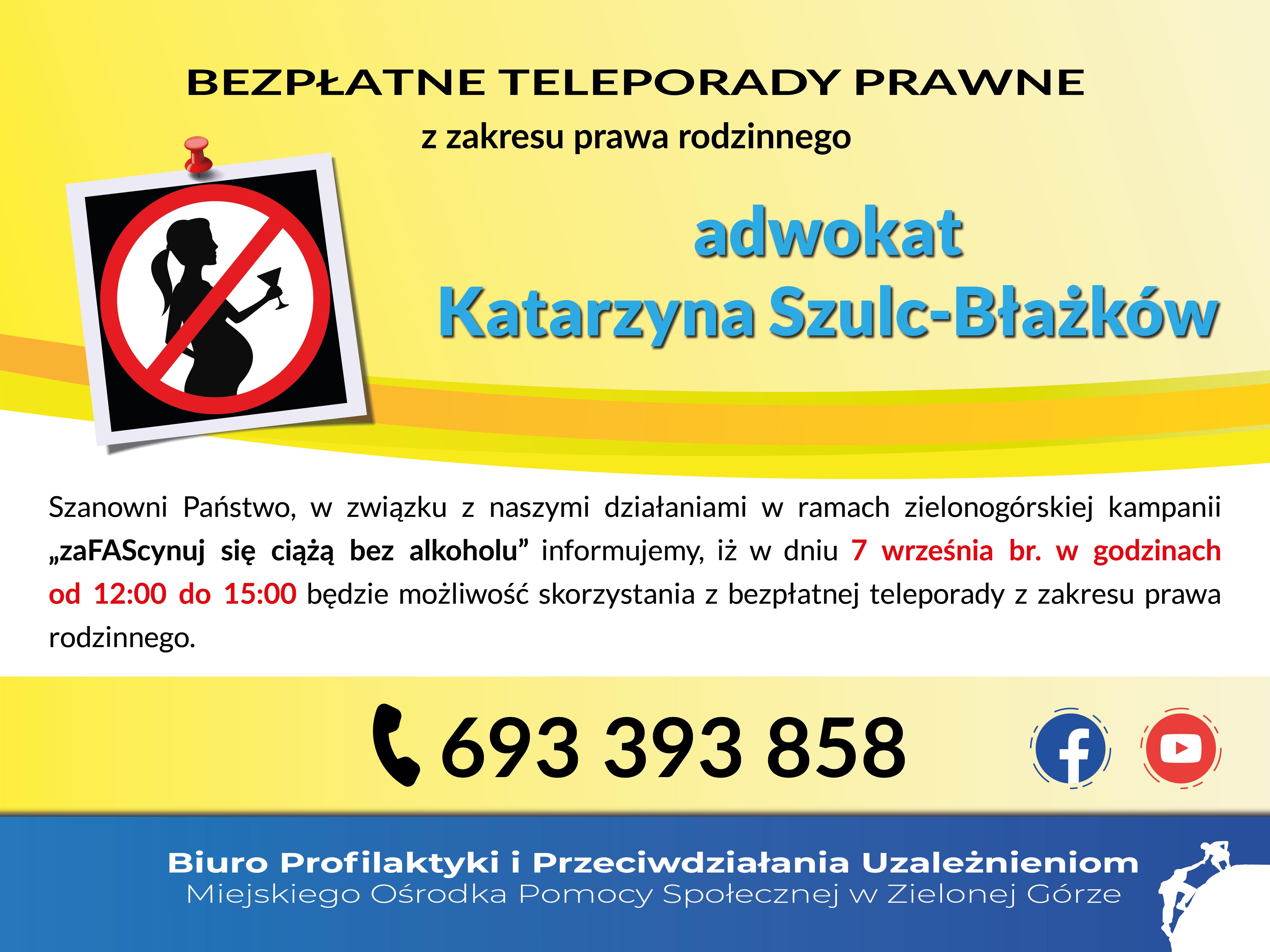 Ilustracja do informacji: Bezpłatne teleporady prawne