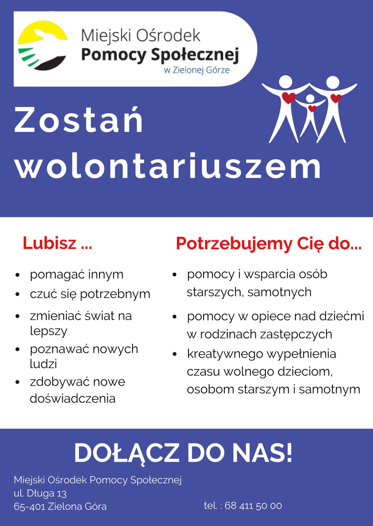 Ilustracja do informacji: Zostań wolontariuszem