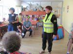 Miniatura zdjęcia: Wizyta policjantki